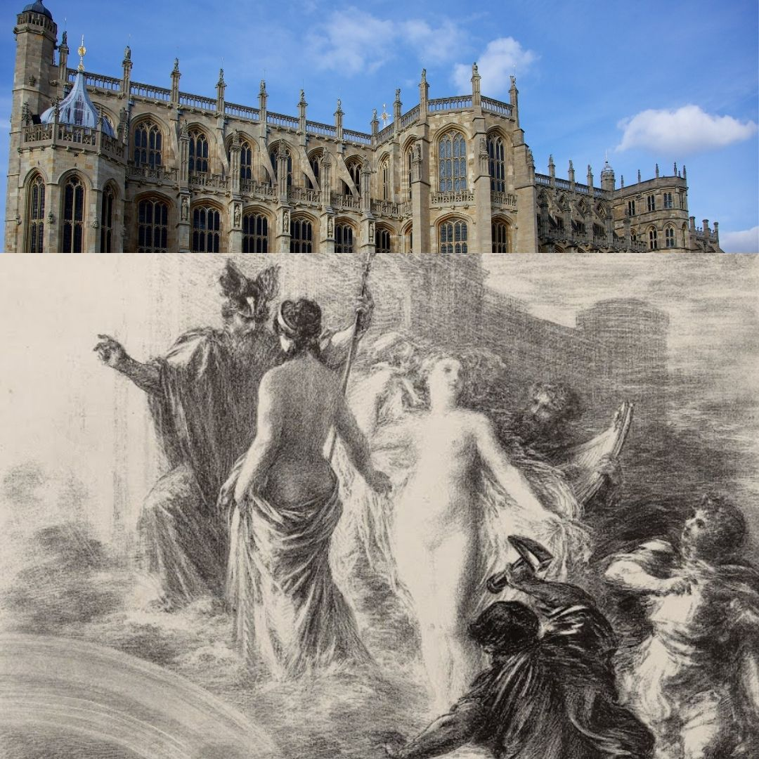 Fantin Latour Wagner Lithographie Chapelle de Windsor