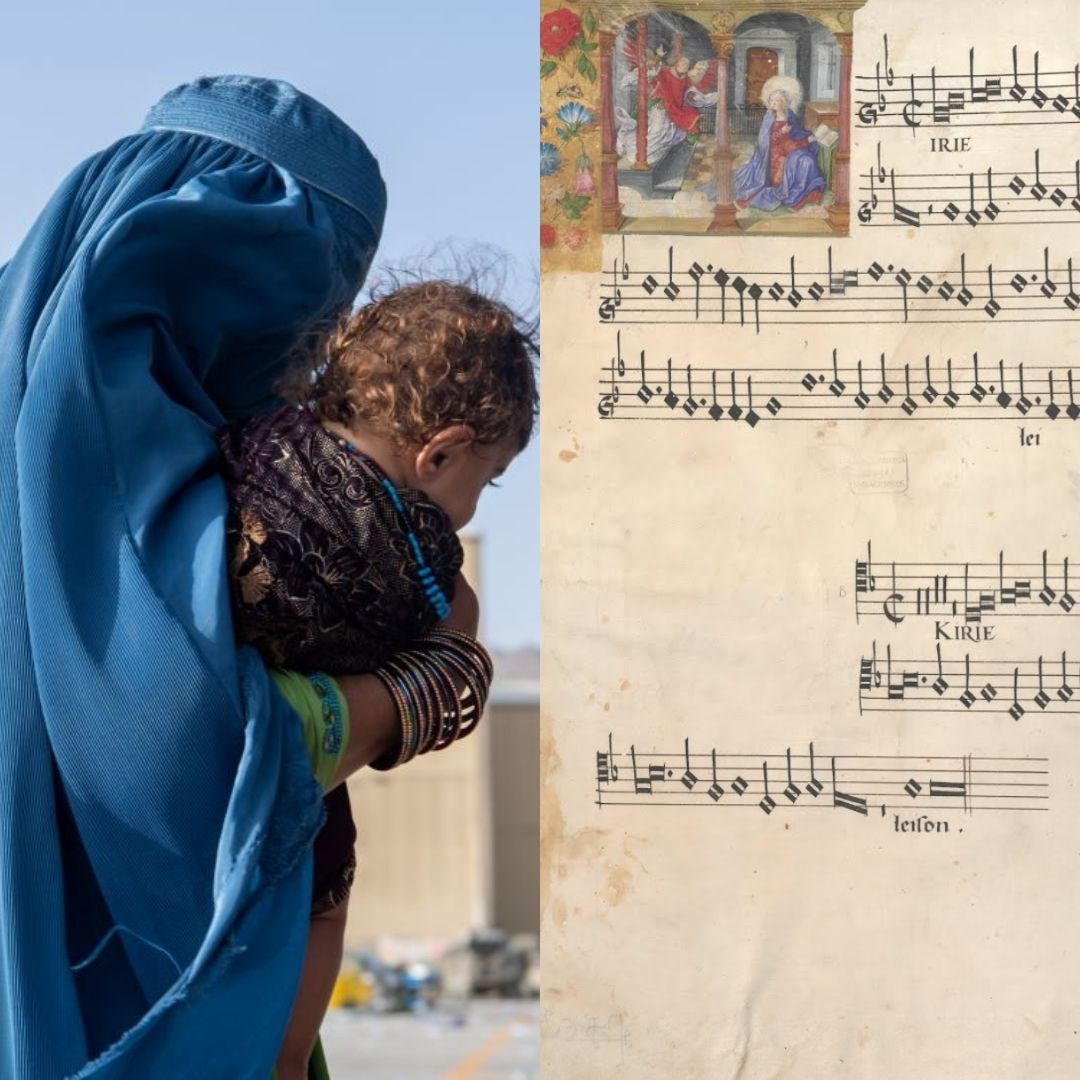 Kyrie d'une messe de Josquin Desprez en polyphonie