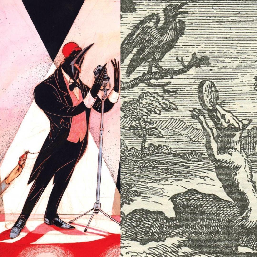 le corbeau et le renard, Chauveau et Rebecca Dautremer