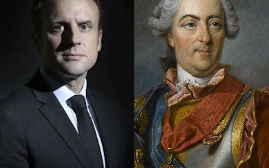 Les portraits officiels de Louis XV