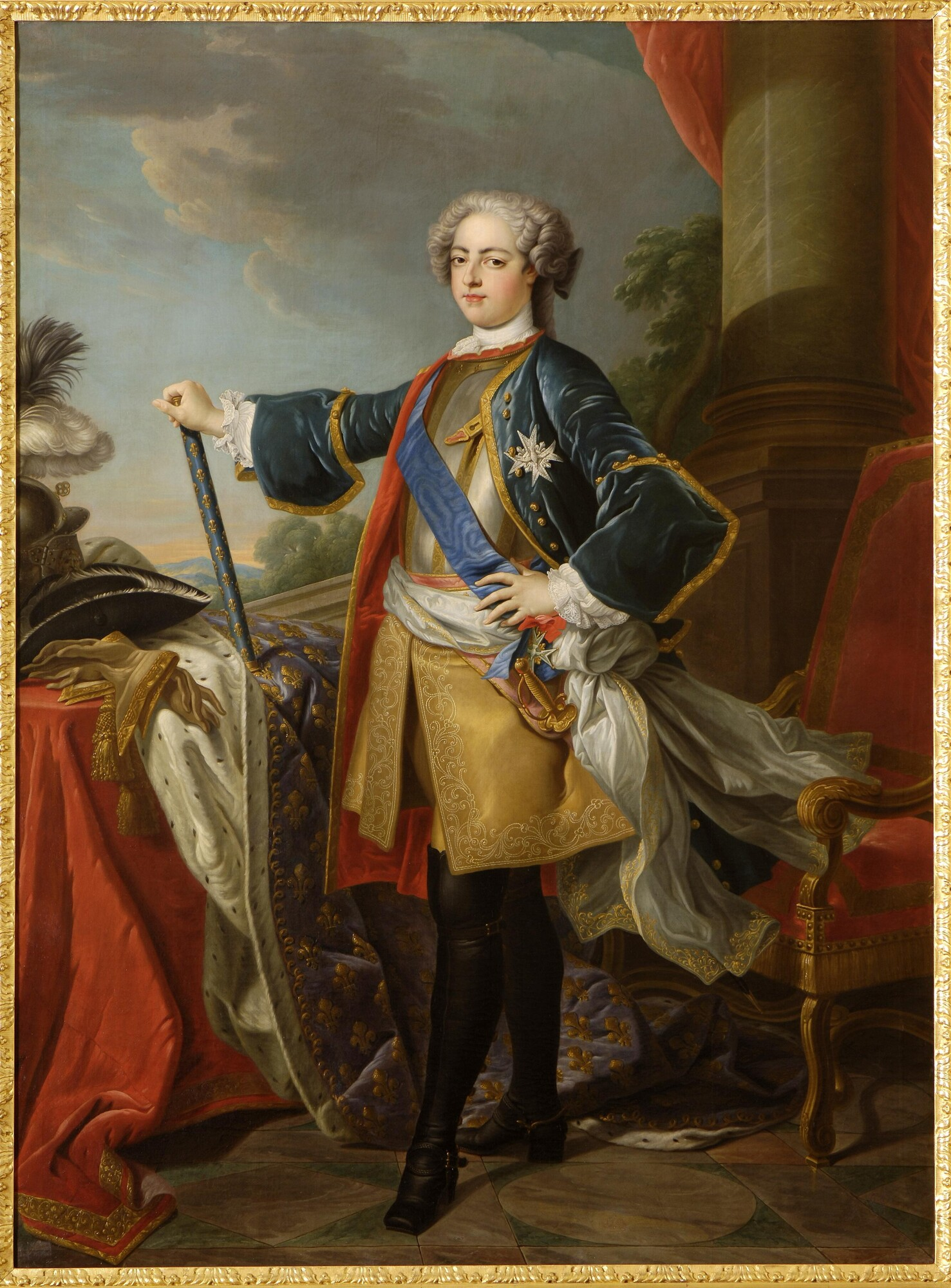 portrait de Louis XV jeune