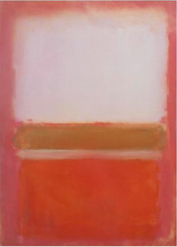 mark Rothko peintre du rouge