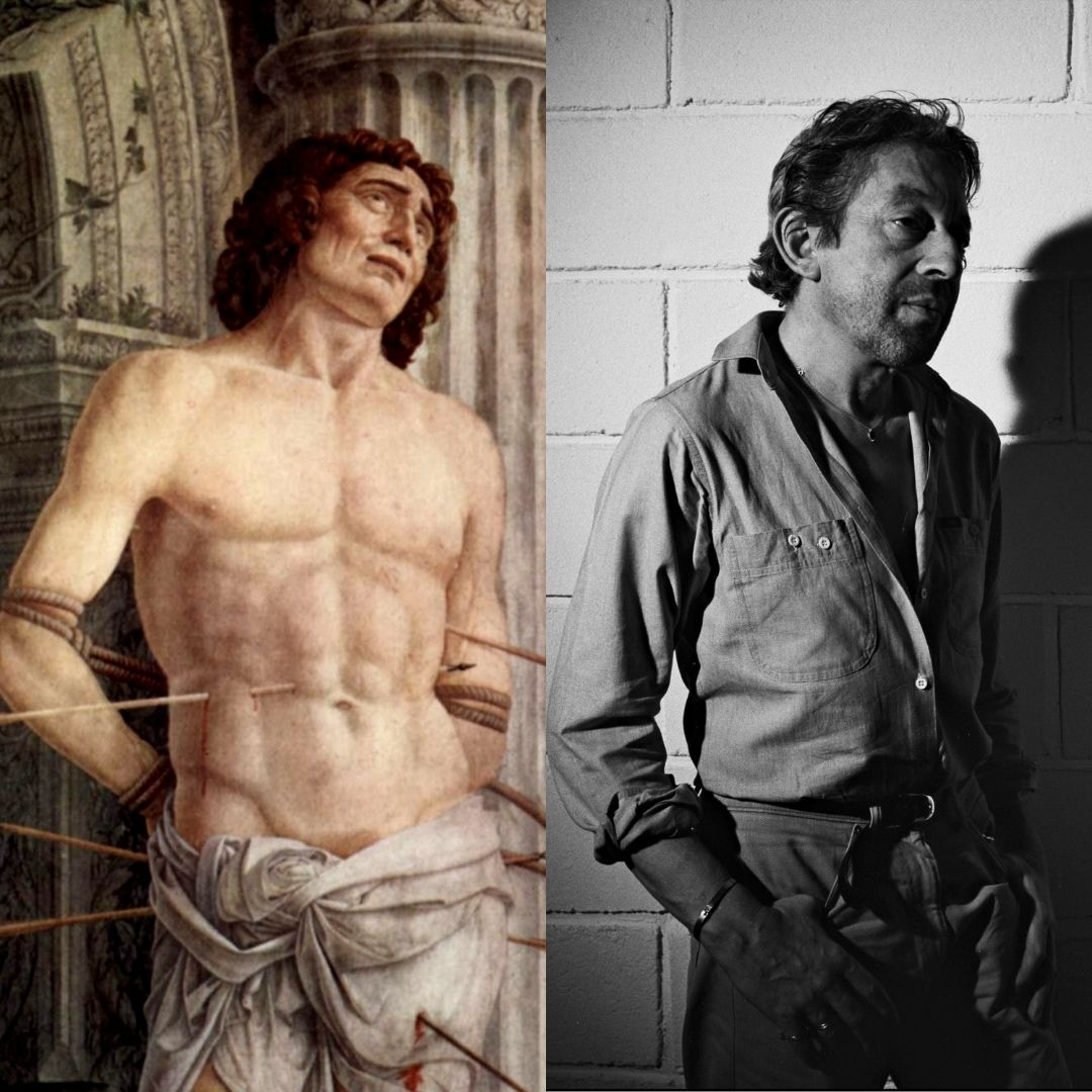 Serge Gainsbourg était subjugué par le Saint Sébastien d'Andrea Mantegna