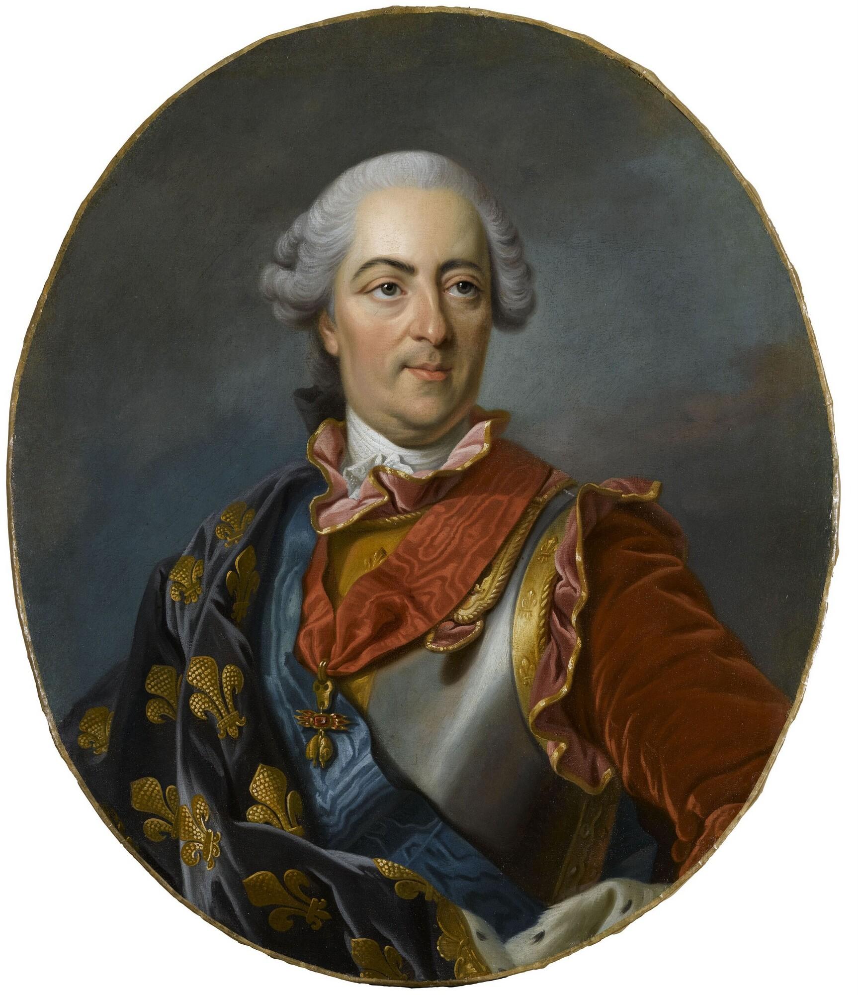 Portrait officiel de Louis XV