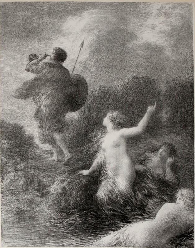 Siegfried et les filles du Rhin