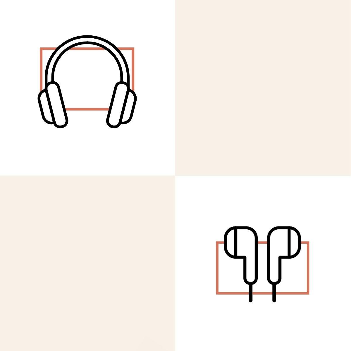 avec des écouteurs
