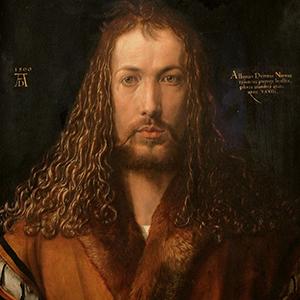 autoportrait de Durer sous les traits du Christ