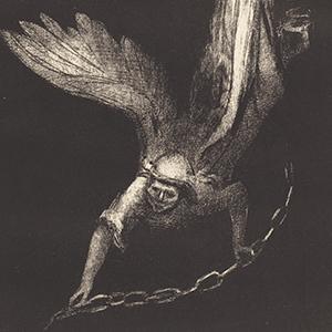 un homme un ange tombe