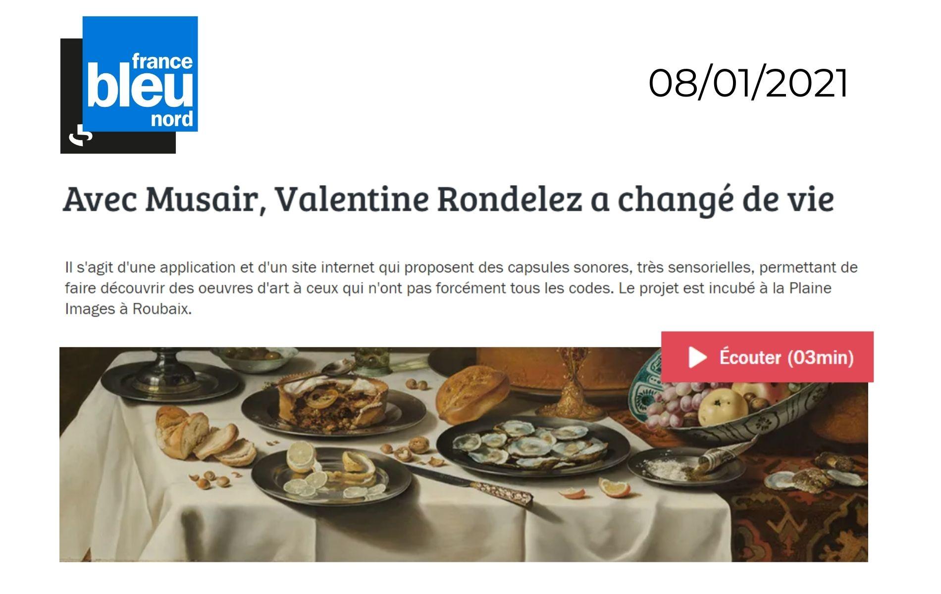 Valentine Rondelez france bleu nord